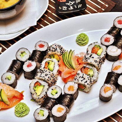 Wasabi sushi - 24 nebo 44 kusů + polévky