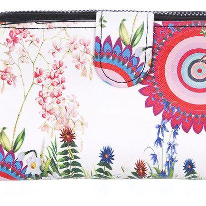 Fashion Icon Peněženka Sea velká ornament a mandaly