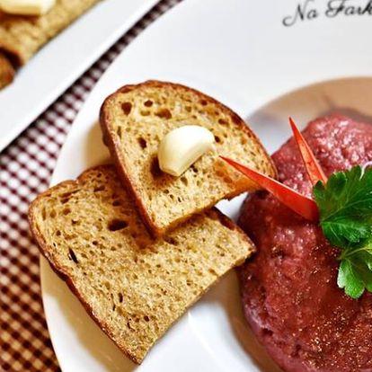 30% sleva na veškeré jídlo včetně poledního menu v Restauraci Na Farkáně