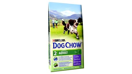 Purina Dog Chow Adult jehněčí 11 + 3 kg