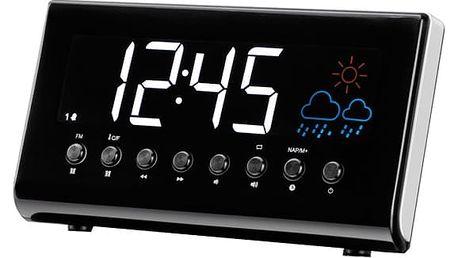 Radiobudík Denver CR-718 černý/stříbrný (dcr718)