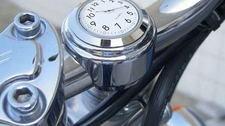 Vodotěsné hodinky na řidítka