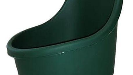 Keter EASY GO 30324 Zahradní plastový vozík - 55L zelený