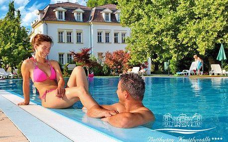 Se šlechtickou stopou: Zalacsány ve 4* hotelu nedaleko jezer Hévíz i Balaton s neomezeným wellness a polopenzí