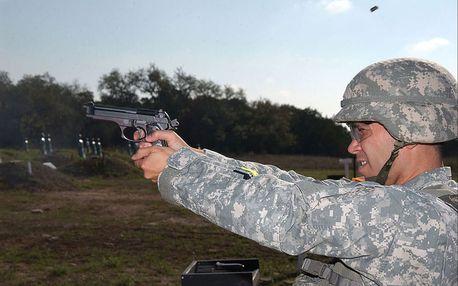 Dobrodružný balíček střelby z pistolí dle vlastního výběru