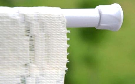 Teleskopická tyč na sprchový závěs a záclony