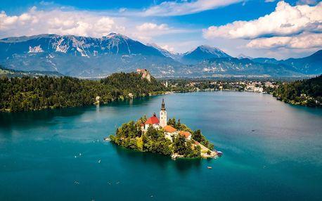 Pobyt ve Slovinsku jen 5 minut autem od jezera Bled