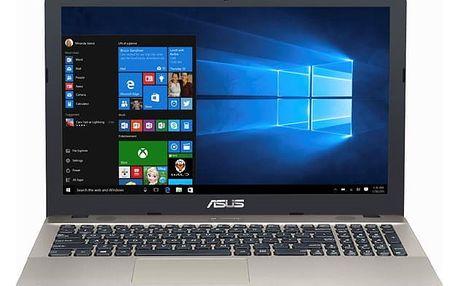Notebook Asus X541NA-GO120T (X541NA-GO120T) černý/zlatý Software F-Secure SAFE, 3 zařízení / 6 měsíců + Monitorovací software Pinya Guard - licence na 6 měsíců v hodnotě 979 Kč + DOPRAVA ZDARMA