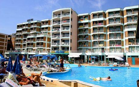 Bulharsko, Slunečné pobřeží, odlet Brno: Hotel na pláži - Delfin*** se snídaní