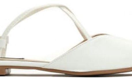 Dámské bílé sandály Nice 027