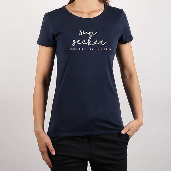 Tričko O´Neill Lw Script T-Shirt Modrá