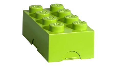 Limetkově zelený svačinový box LEGO®
