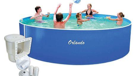 Bazén Orlando 3,66 x 0,91m + skimmer Olympic (bez hadic a schůdků)