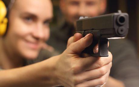 6 střeleckých balíčků s pestrou škálou zbraní