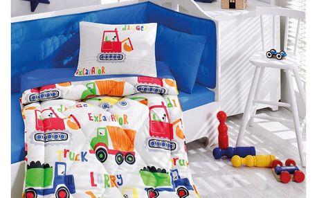 Dětský ložnicový set Şantiye, 100 x 170 cm
