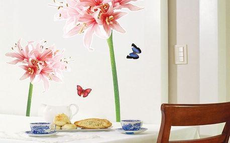 Sada samolepek Ambiance Lilly Flower