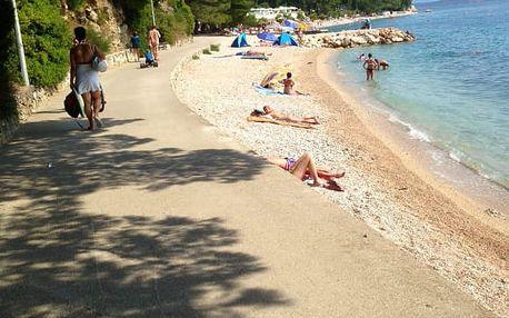 Chorvatsko, Makarská 8 dní pro 1 os. ve vybavených karavanech