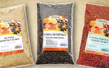 Quinoa a další balíčky zdraví, chutí a vůní