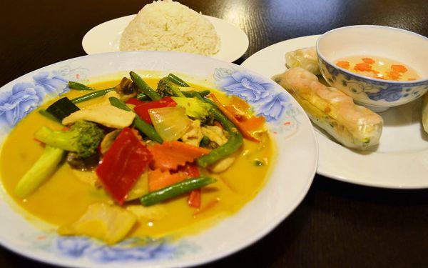 2chodové vietnamské menu dle výběru u náplavky
