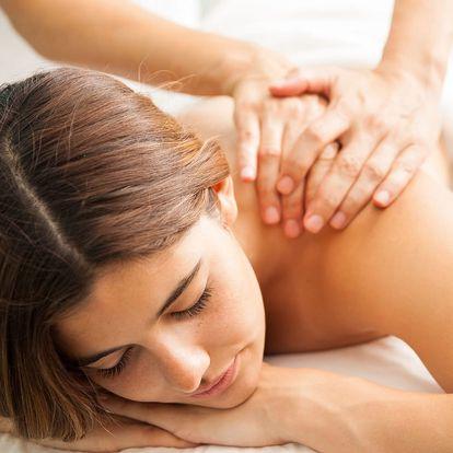 60minutová masáž dle vlastního výběru ze 7 druhů