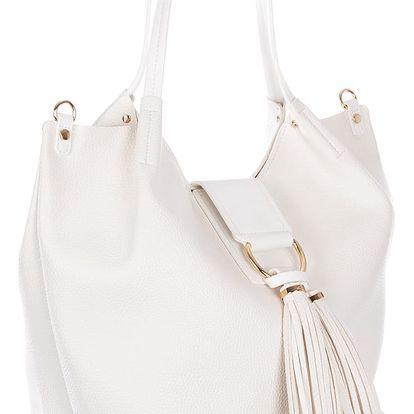 Dudlin Dámská kabelka strukturová Fashion s přívěskem