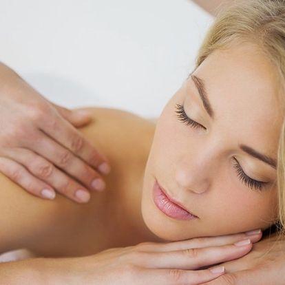 Relaxační masáž dle výběru pro dokonalé uvolnění