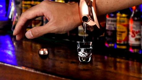 Náramek á la placatka Booze Bangle