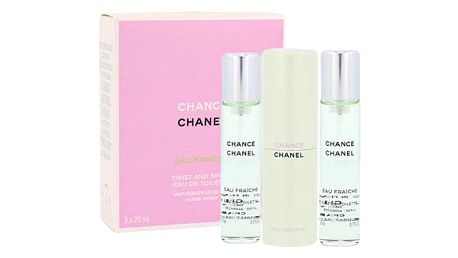 Chanel Chance Eau Fraiche 3x20 ml EDT Twist and Spray W