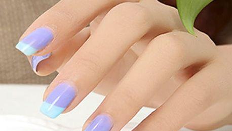 Lak na nehty měnící barvu podle teploty - 24 barev