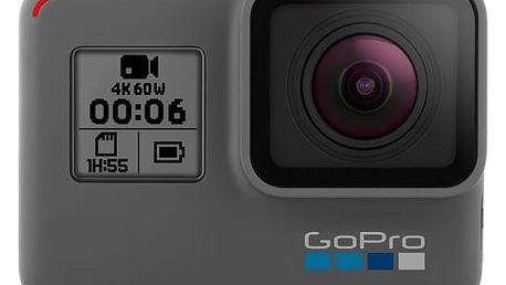 Outdoorová kamera GoPro HERO 6 Black černá + DOPRAVA ZDARMA