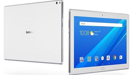 """Dotykový tablet Lenovo TAB4 10"""" PLUS Wi-Fi (ZA2M0003CZ) bílý Software F-Secure SAFE, 3 zařízení / 6 měsíců v hodnotě 979 Kč + DOPRAVA ZDARMA"""