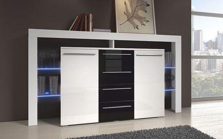 Moderní TV stolek RIVA II PLUS