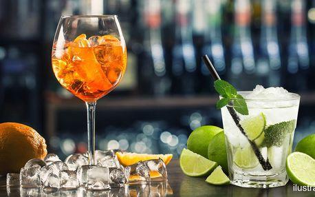 Letní drinky - 0,4l Aperol Spritz či Mojito