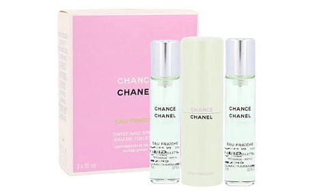 Chanel Chance Eau Fraiche 3x20 ml EDT Twist and Spray W