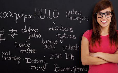 Individuální kurz jazyka dle výběru pro 1 či 2