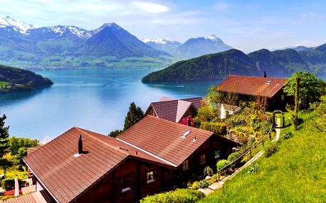 Švýcarské a Francouzské Alpy: 2 noci se snídaní
