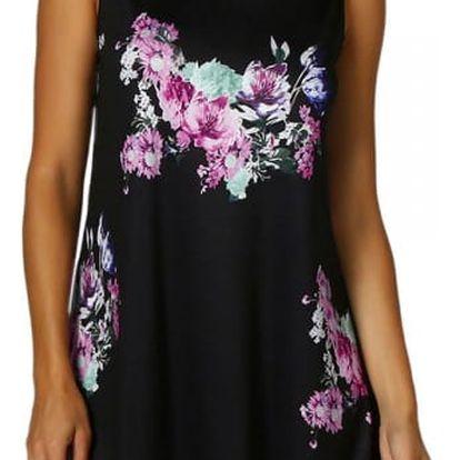 Volné květované šaty - 6 barev