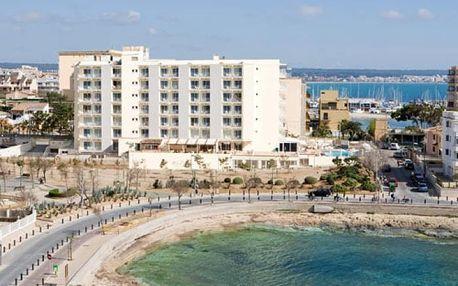 Španělsko - Mallorca na 5 až 10 dní, polopenze nebo snídaně s dopravou letecky z Prahy 150 m od pláže