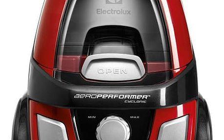 Vysavač podlahový Electrolux Series 99 EAPC52LR černý/červený