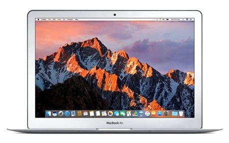 Notebook Apple MacBook Air 13 128 GB SK - silver + dárek (MQD32SL/A)