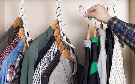 Věšák na Ramínka na 40 Oděvů InnovaGoods 24 částí