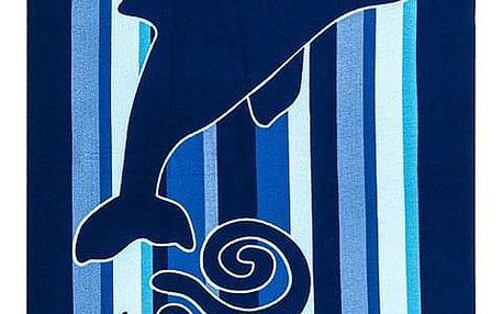 JAHU Plážová osuška Delfín, 70 x 150 cm