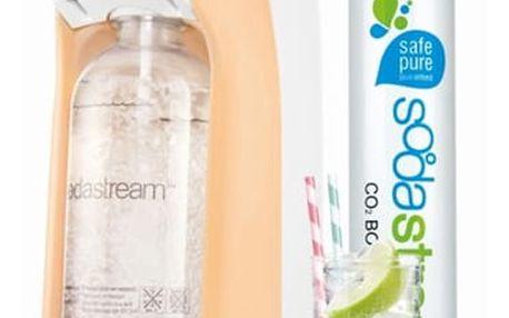 Výrobník sodové vody SodaStream Pastels JET PASTEL ORANGE oranžový