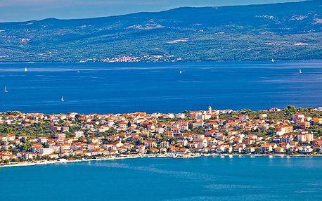 8denní pobyt pro 1 osobu u moře ve 4lůžkovém apartmánu na ostrově Čiovo v Chorvatsku