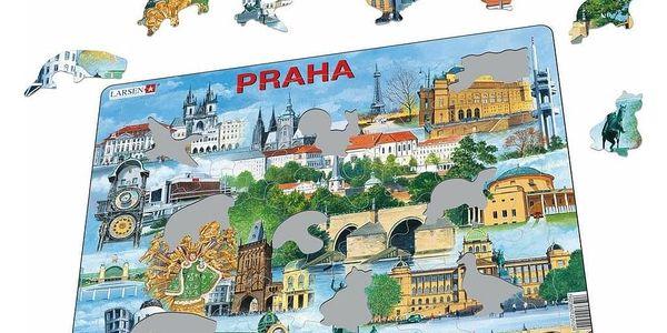 Larsen Puzzle Nejzajímavější atrakce v Praze, 66 dílků2