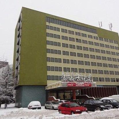 Ubytování v hotelu Gerlach *** v pěším dosahu AQUACITY Poprad. CELOROČNĚ!
