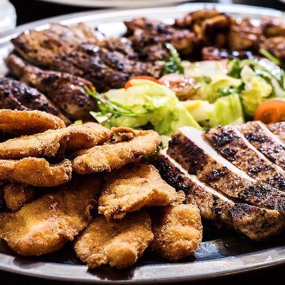 Bašta pro partu: 5 druhů masa (1 kg) s přílohami
