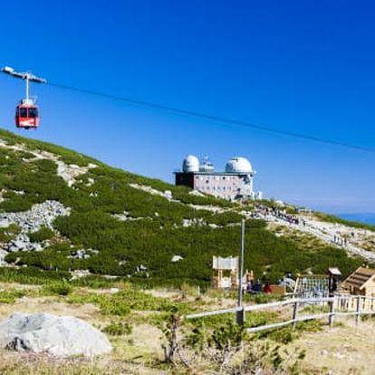 Neomezený wellness pobyt v Tatrách v 3 * hotelu s výhledem na Lomnický štít!