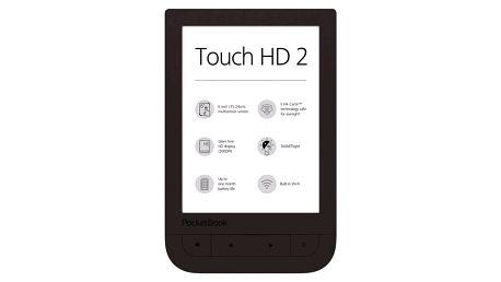 Pocket Book 631+ Touch HD 2 (PB631-2-X-WW ) hnědá