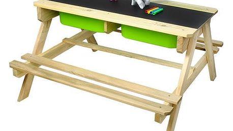 Maxy 57215 Dětský dřevěný zahradní set 2 v 1